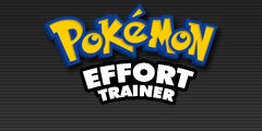 Pokemon Effort Trainer